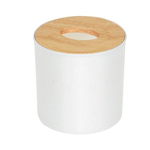 Elegant libra Oak Tissue Dispense Tissue Box Cover Holder Kitchen Napkin Storage CaseHolder Desktop Wood Tissue Box Organizer