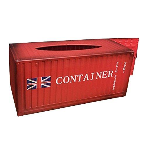 Elegant libra Retro Iron Creative Container Mental Tissue Box Home Tissue Box Holder Cover Multifunctional Napkin Storage CaseHolder Desktop Organizer