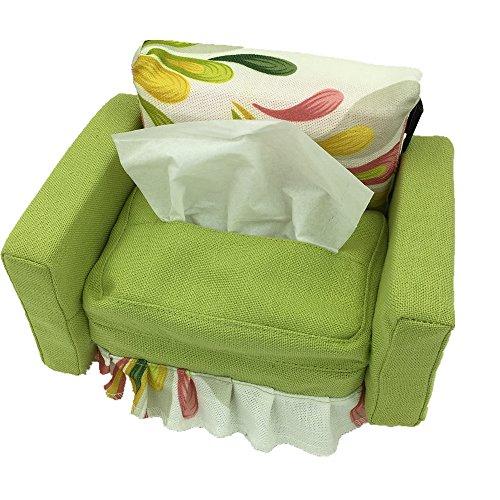 UUOUU Creative Canvas Home Furnishing Tissue Holder Multifunctional Tissue Box Living Room Napkin Storage Decoration Cloth Paper Organizer