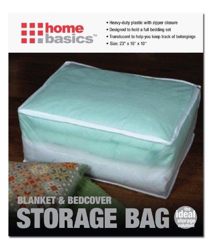 Home Basics Peva Blanket Storage Bag