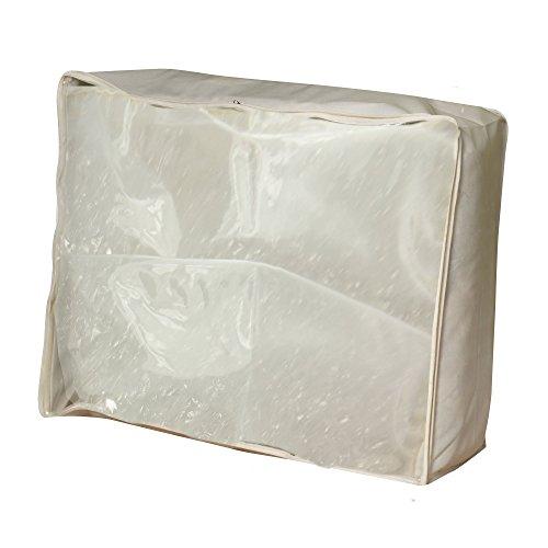 Household Essentials 311364 Blanket Storage Bag - Natural Canvas