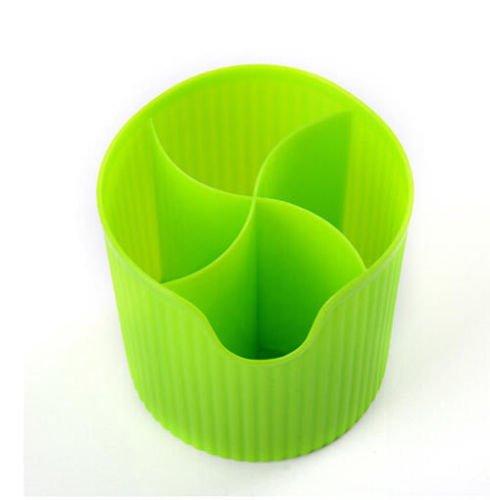 Utensil Organizers Kitchen Organizer Tableware Storage Leachate Box Cutlery Chopstick Spoon Holder Kitchen Storage Plastic 125x12cm 1pcs Green
