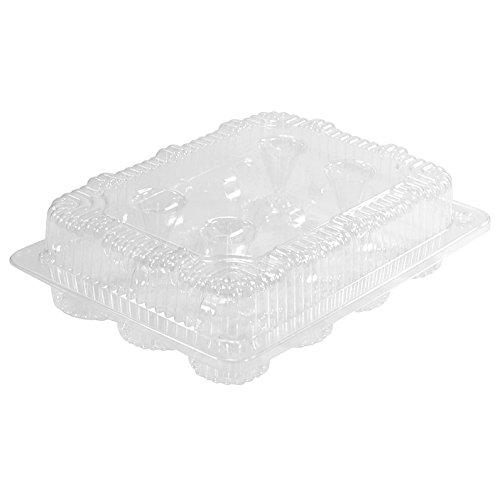 1 Dozen Mini Cupcake Container 12 cavities 100 ct