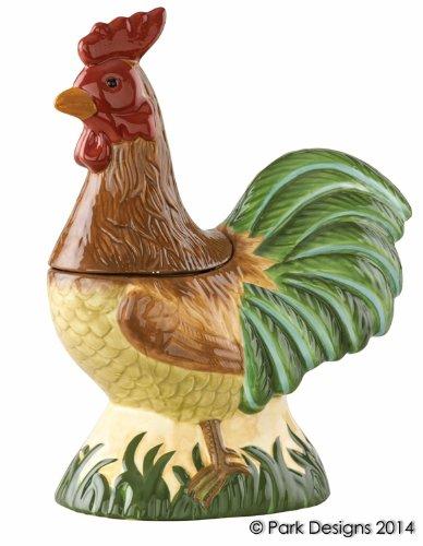 Park Designs Free Range Rooster Cookie Jar