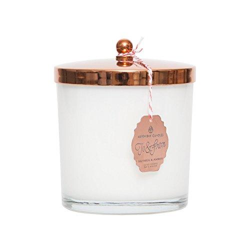 Aspen bay Nutmeg Amber Holiday Jar