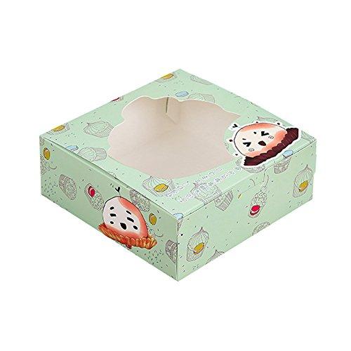 Cupcake Boxes for 4 Cupcake - Set of 12