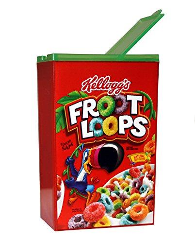 Jokari Kelloggs Froot Loops Travel-Size Cereal Container
