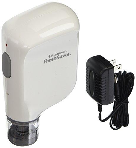 FoodSaver Vacuum Sealer FSFRSH0051-P00 FreshSaver Handheld Rechargeable Sealing System White