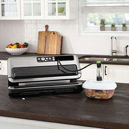 Foodsaver DAZA000088 BlackSilver FM5480 2in1 Food Preservation System reg