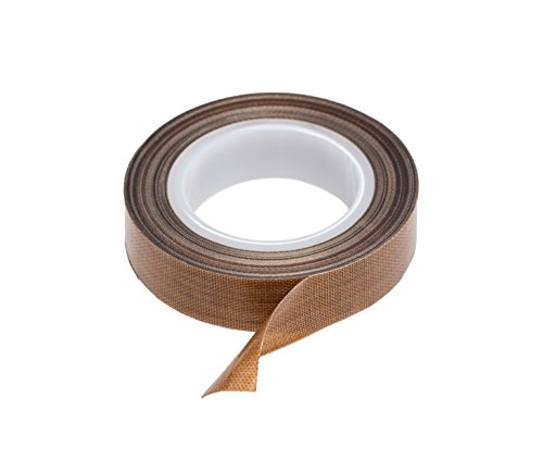 PTFE Tape  Teflon Tape for Vacuum Hand and Impulse Sealers 12-inch x 30 feet - Fits FoodSaver Seal A Meal Weston Cabellas and Many More