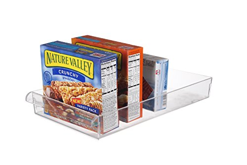 Scottys TM Refrigerator Freezer and Pantry Storage Organizer Bin - Great to Organize Your Fridge and Whole Kitchen -BPA Free 145 x 8 x 2 Inches