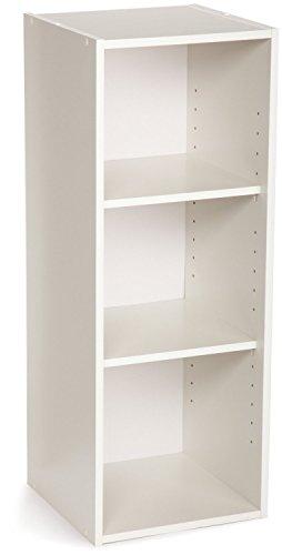 ClosetMaid 8987 Stackable 3-Shelf Organizer White 2-Pack
