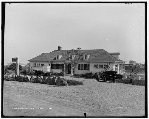 Photo Bass Rocks Golf Club houseorganizationbuildingsGloucesterMassachusettsc1910