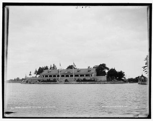 Photo Thousand Islands Yacht club houseorganization facilitiesbuildingsNY1890