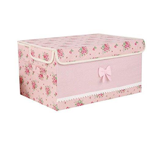 Reinhar Home Essential Organizers Storage Box Multifunction Thickened Storage Boxes House Organization Pink practical