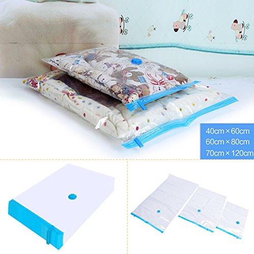 Vacuum Seal Storage BagsPack of 20 Package Compressed Space Organizer Storage Bags Space Saver Bags Household Keeping Supplies
