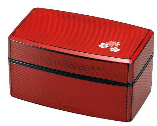 Japanese Bento Lunch Box Hakoya Range Club Sensuji Ladies RED Negoro 51760