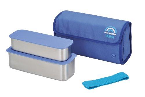 THERMOS Hot Lunch Heat-Retention LunchBento Box Set DSA-800W