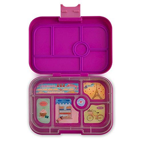 Yumbox Original Leakproof Bento Lunch Box Container for Kids Bijoux Purple