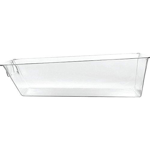 Delfin BFB-2711-04 Clear PETG 27 x 11 Bulk Food Bin