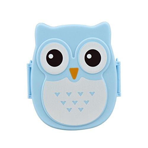YJYdada Owl Lunch Box Food Container Storage Box Portable Bento Box D