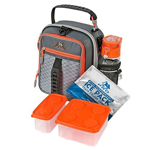 AZ Pro High Performance Dual Compartment Lunch Pack BlackOrange