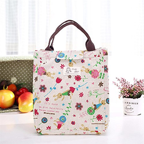 DORIC Lunch Bag Portable Soft Lunch Bags for School children Lunch Box