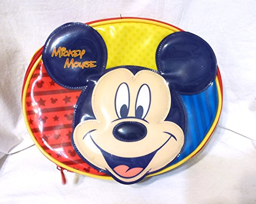 Thermos Disney Mickey Mouse Head Oval Insulated Soft Lunch BagBox-Retired