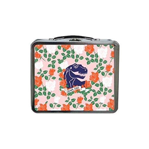 Dinosaur Lunch Box for Girls Cute Lunch Box Pink Lunch Box for Girls Dinosaur for Girls METAL Lunch Box