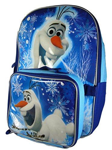 Disney Frozen Olaf Backpack Lunch Bag Set