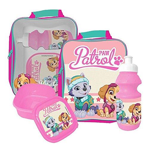 Paw Patrol 3 Piece Lunch Bag Set