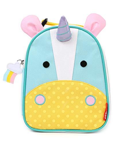 Skip Hop Zoo Kids Insulated Lunch Box Eureka Unicorn Multi
