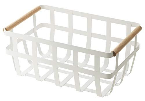 YAMAZAKI home Tosca Storage Basket Dual Handle