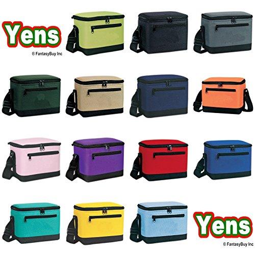 Yens Fantasybag Deluxe Lunch Box Cooler Bag Cooler6CP-2706 Black