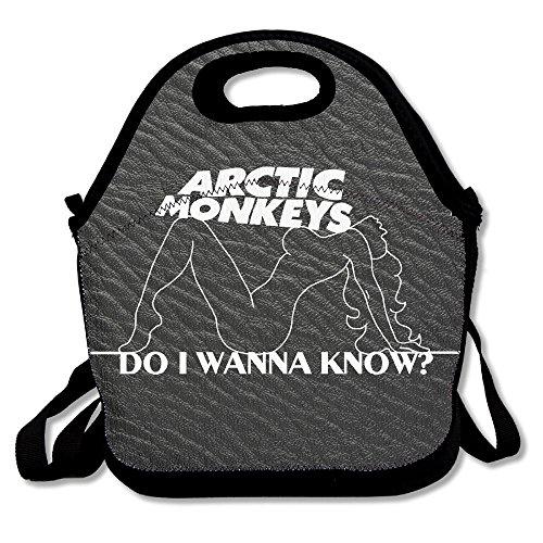 Reusable Burgundy Arctic -Do I Wanna Know Crossbody Pretty Lunch Bags