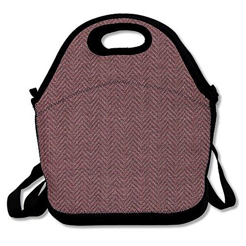 OpOphi Brown Reusable Lunch Bag  Lunch Tote Handbag