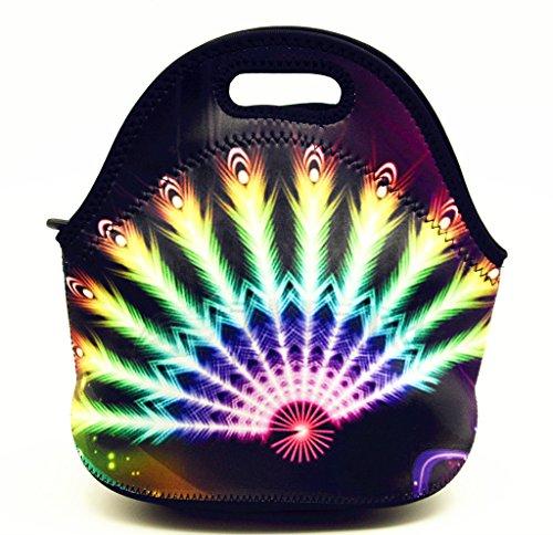 Shubb Neoprene Lunch Tote Bag - Insulated Waterproof Lunch Box for Women Adults Kids Girls Teen Girls