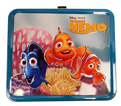 Disney Finding Nemo Dot Lunch Tin Box