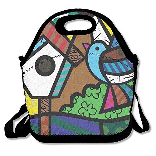 Birds Go Back To The Nest Popular Lunch Bag Picnic Bag Backpack Bag Shoulder Bag Handbag