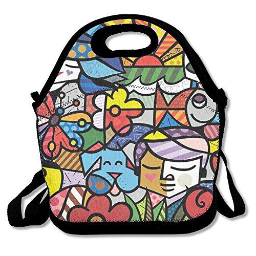 The Friendship Between Animals And People Popular Lunch Bag Picnic Bag Backpack Bag Shoulder Bag Handbag