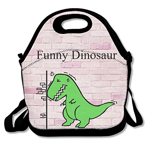 Tea-Rex Funny Dinosaur Lunch Bag Lunch Tote