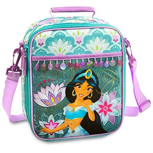 Disney Store Aladdin Princess Jasmine School Lunch Box Tote Bag