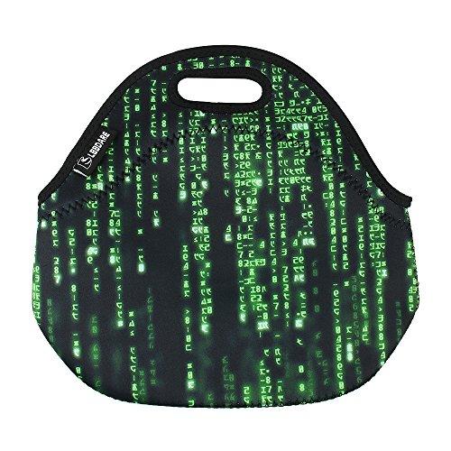 Lunch Bag for Boys Girls Women Kids-Green