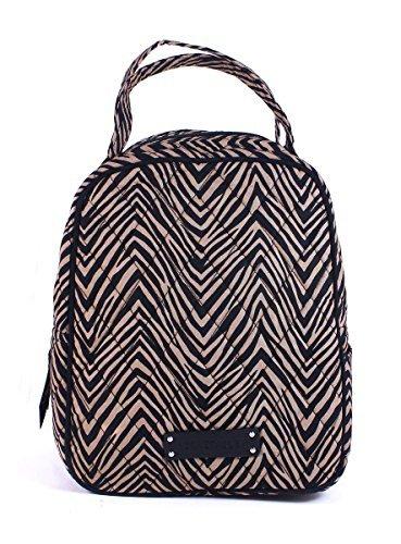 Vera Bradley Womens Lunch Bunch Zebra Lunch Bag
