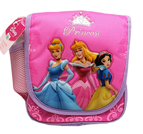 Disney Princess Pink and Lavender Colored Kids Lunch Tote Bag