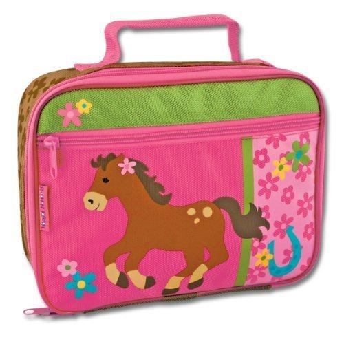 Stephen Joseph Girl Horse Lunch Box Pink by Stephen Joseph
