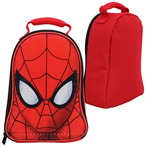 Marvel Spiderman Dome Shaped Insulated Lunch Bag - Lunch Box