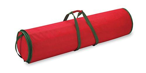 Whitmor Christmas Gift Wrap Organizer for 30 Rolls of Gift Wrap