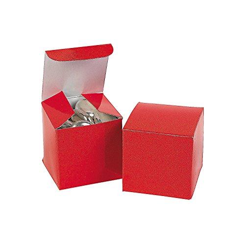 Fun Express Mini Red Gift Boxes 2 Dozen