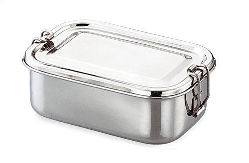 King International Stainless Steel Food Grade Bento Rectangular Lunch Box Tiffin Box School Tiffin Box